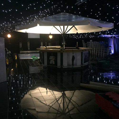 Umbrella Bar for Hire - Freida