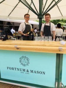 The Umbrella Bar Company Fortnum and Mason Customised